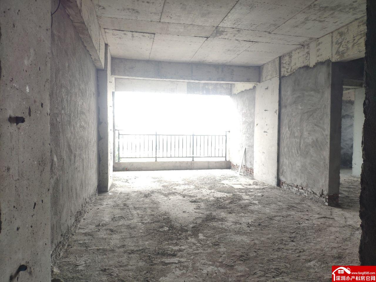 横沥小产权房统建楼【松湖居】一梯四户大阳台户型方正