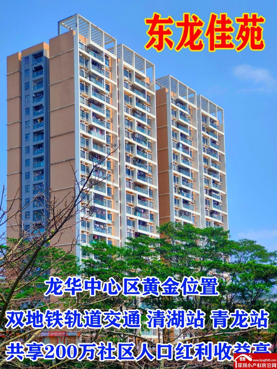龙华小产权房统建楼《东龙佳苑》中心地段低价发售