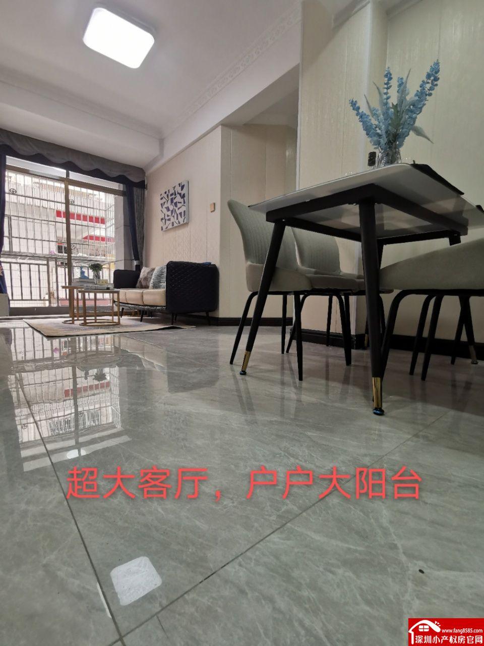 西乡小产权房统建楼【优学府】原始户型物业