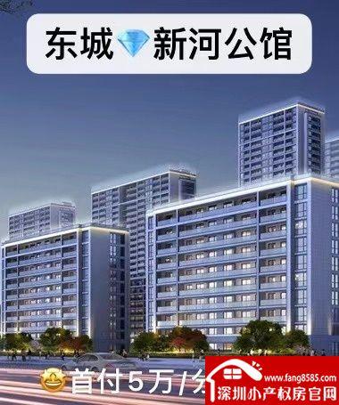 东城小产权房统建楼【新河公馆】两大栋封闭式小区