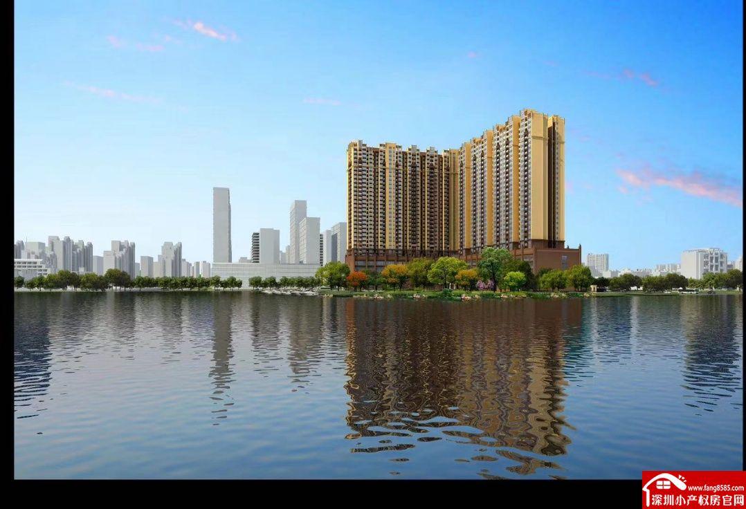 东城万江一桥之隔3栋小区房【蓝湾半岛】依江而居仁者乐水