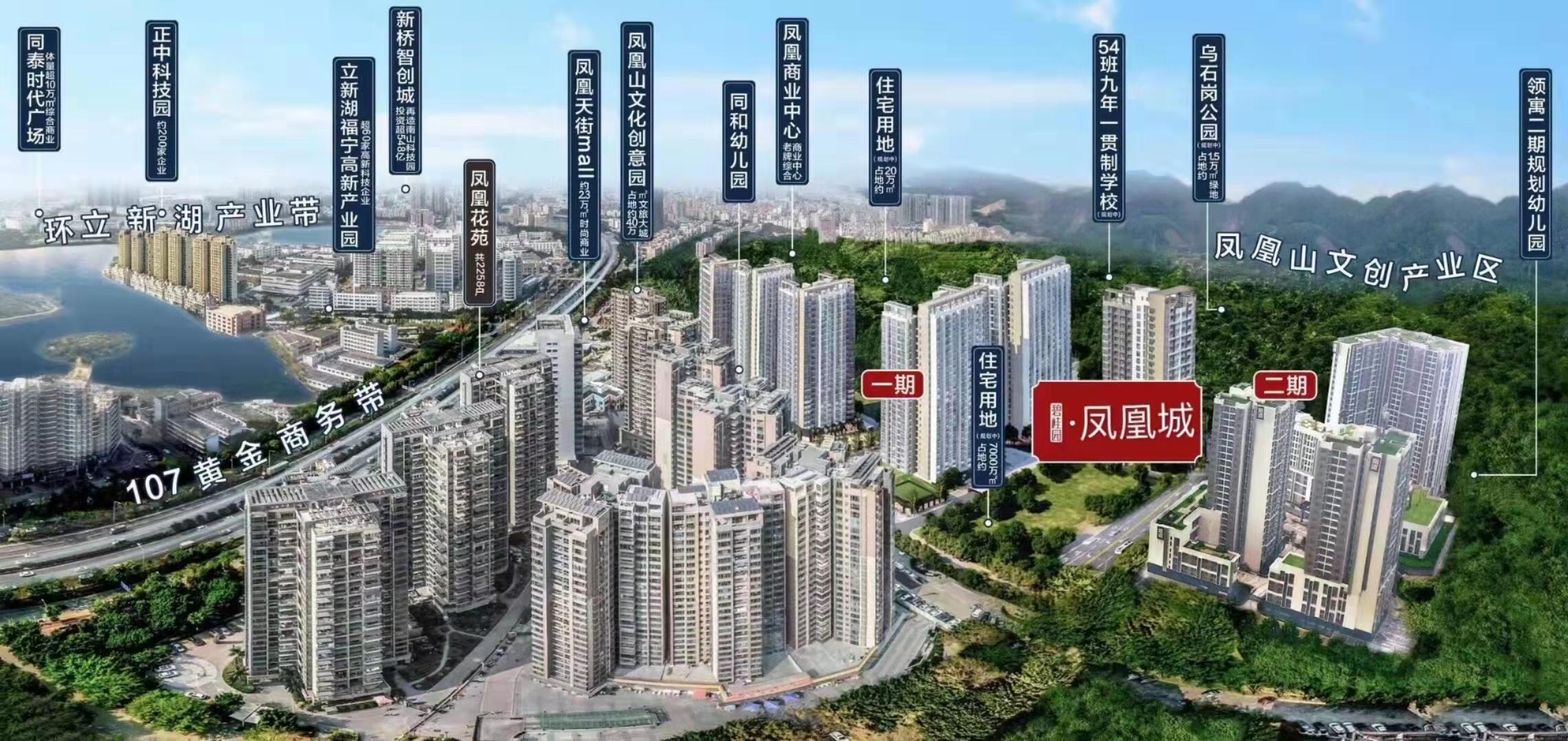 福永独立红本商品房公寓《碧桂园凤凰城》精装物业70年产权
