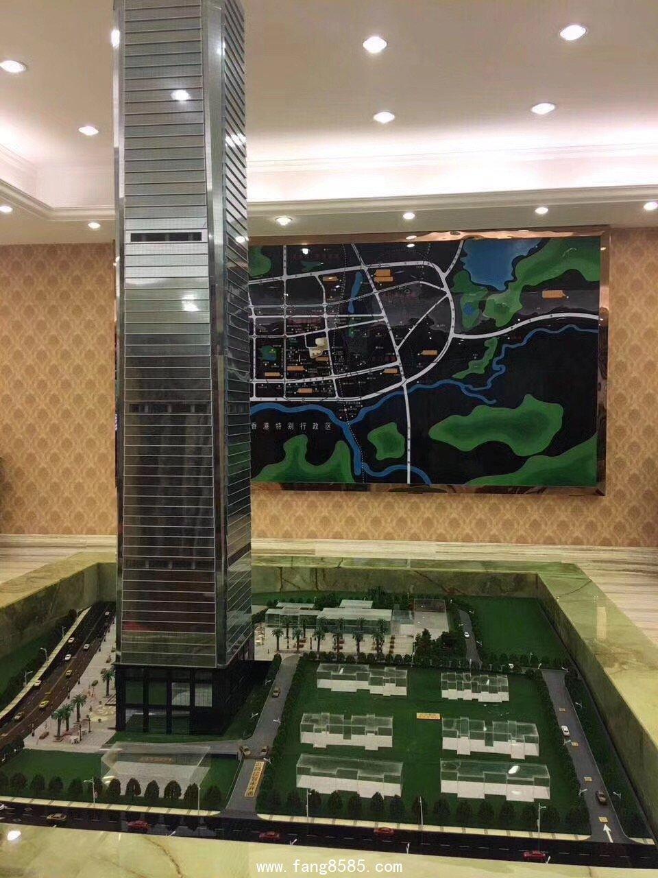 罗湖新地标-罗湖100 军产房均价37000/平