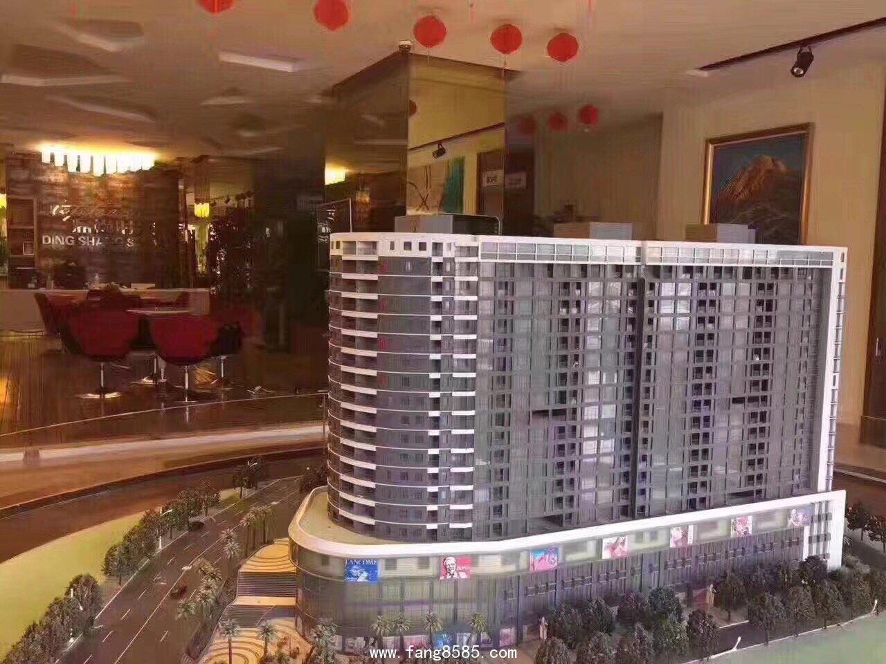 西乡固戍地铁口大红本(鼎尚花园)整栋红本 680户 合围式花园小区#