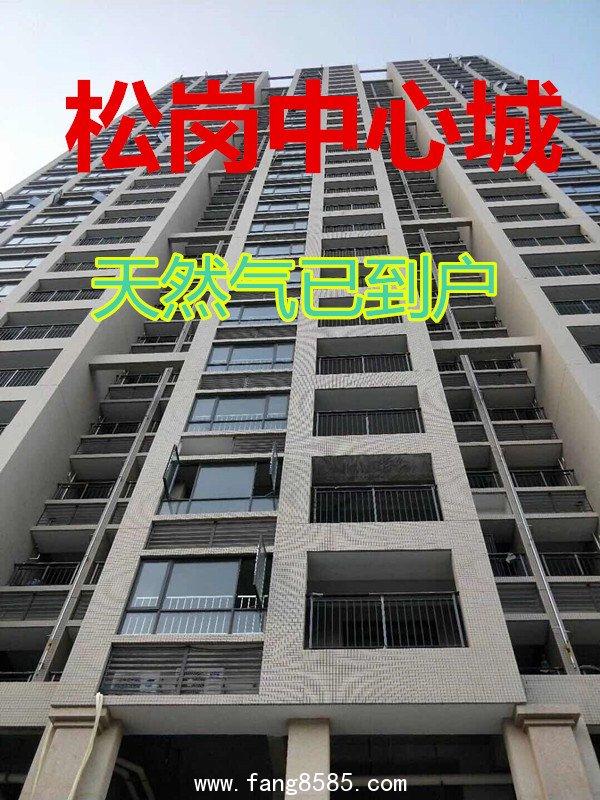 松岗107旁边【新城豪苑】两房46.8万一套大阳台带装修