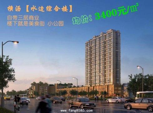 横沥统建楼【水边综合楼】自带商业,超高实用率