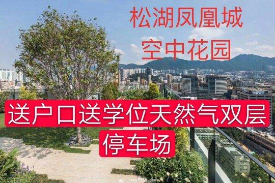东莞常平小产权房统建楼【松湖凤凰城】首付2成发绿本送学位