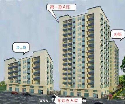 松山湖村委统建楼(鸿锦中心国际)三栋小区自带停车场